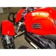 Электроквадроцикл Муха 800 RC Красная с черными крыльями