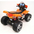 Электроквадроцикл Е005КХ для детей оранжевый