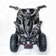 Электроквадроцикл Мини Кобра 800 Чёрная молния