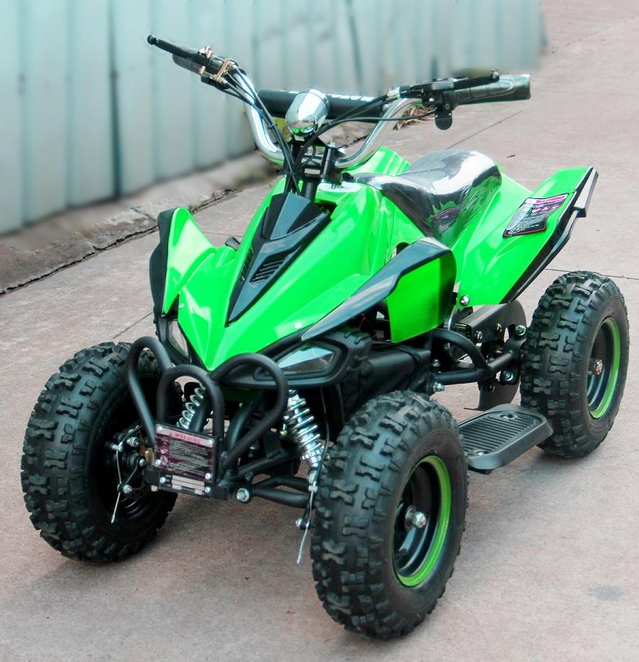 Десткий квадроцикл  Мини Кобра 800 Зеленая