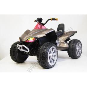 Электроквадроцикл А001МР для детей золотой карбон