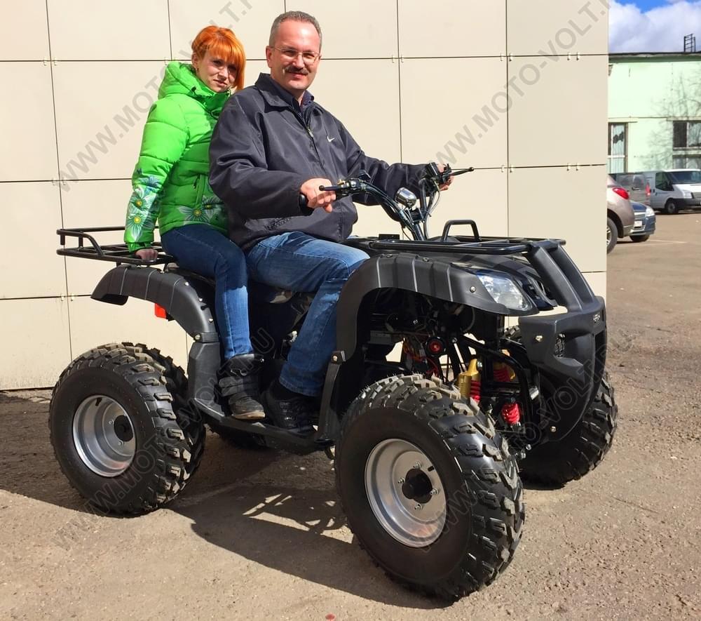 Электроквадроцикл подростковый  Бизон 1000XL Черный
