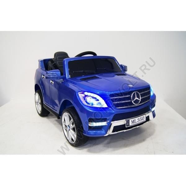 Электромобиль Мерседес ML350 синий