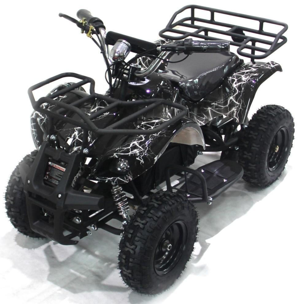 Детский квадроцикл на аккумуляторе  ATV Мини Барс 800 RC Флэш