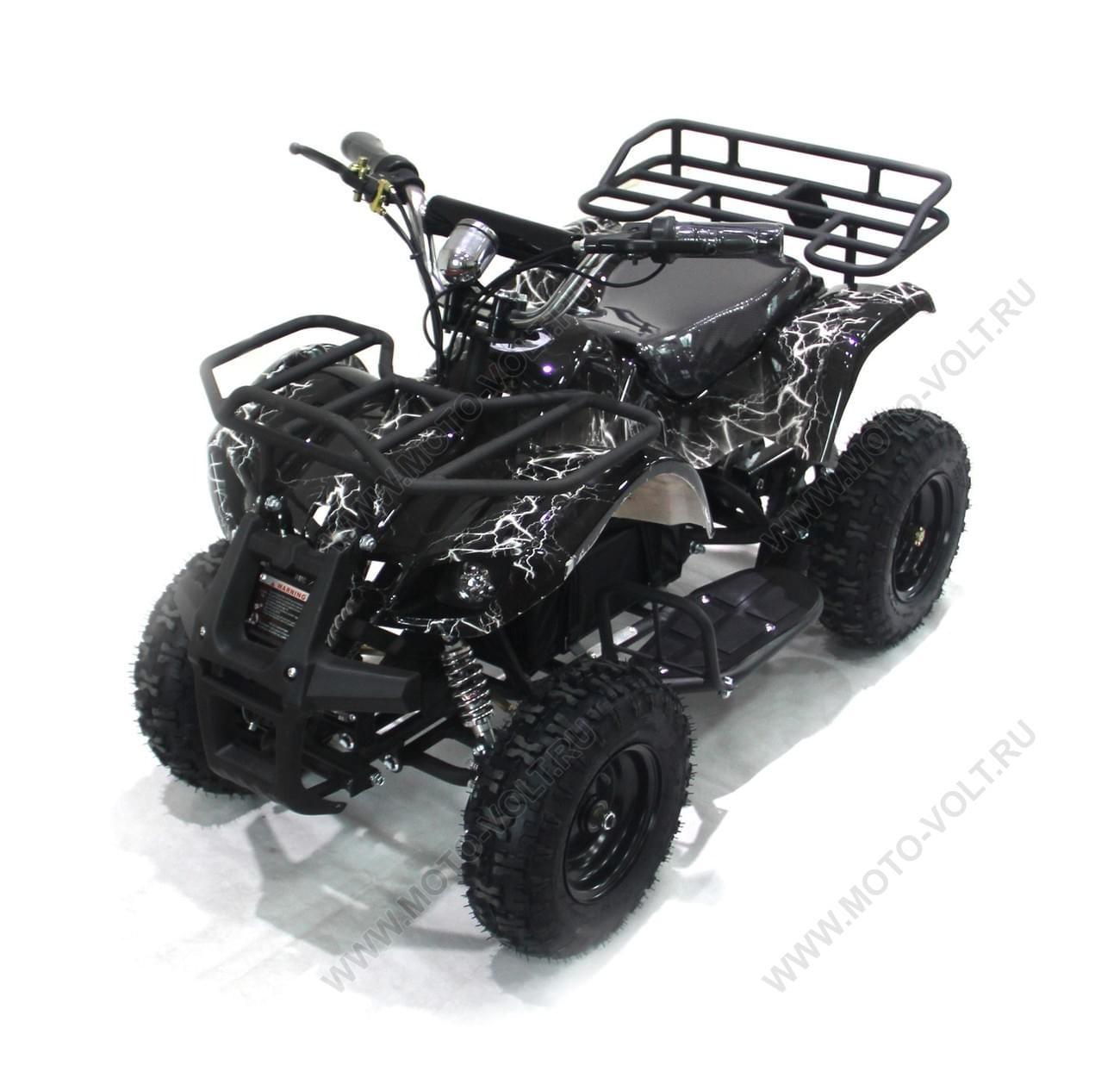 Электроквадроцикл Мини Барс 800 Чёрная Молния