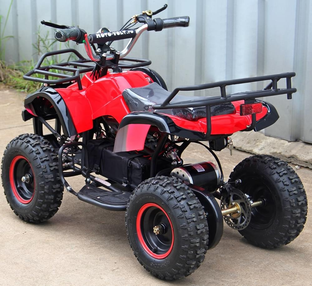 Электроквадроцикл подростковый  Мини Барс 800 Красный