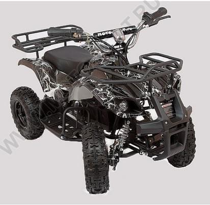 Детский квадроцикл  Мини Барс 800 RC Черная молния