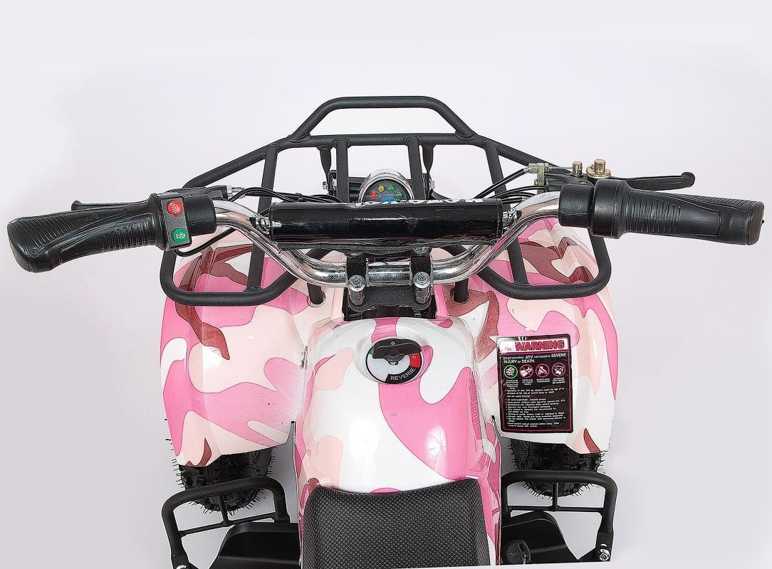 Электроквадроцикл Мини Барс 800 Розовая Пантера