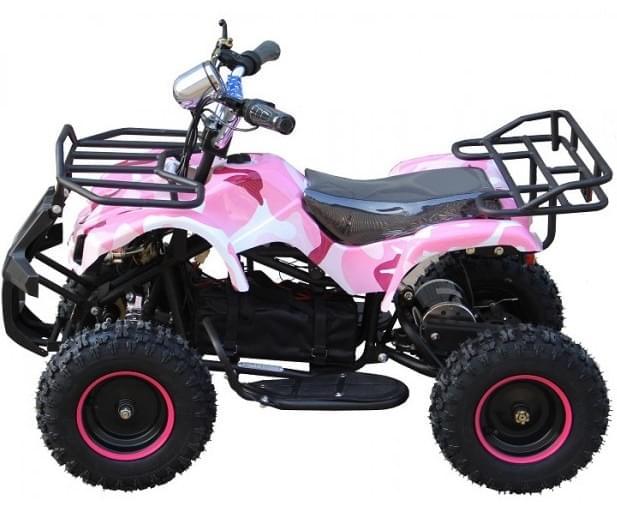 Детский квадроцикл  ATV Мини Барс 800 RC Розовая Пантера