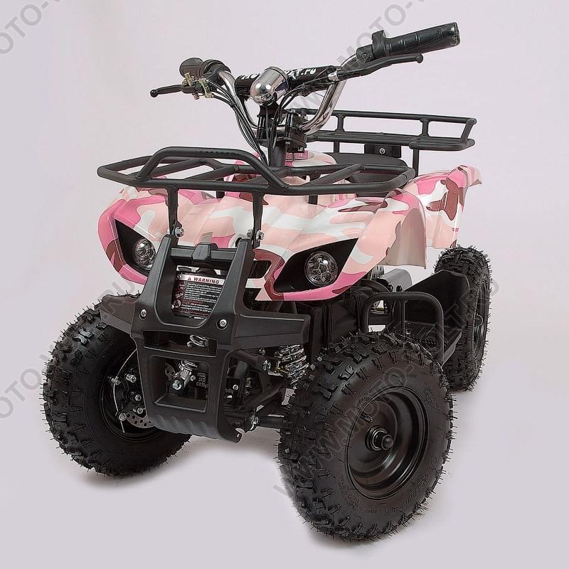 Десткий квадроцикл  Мини Барс 800 Розовая пантера
