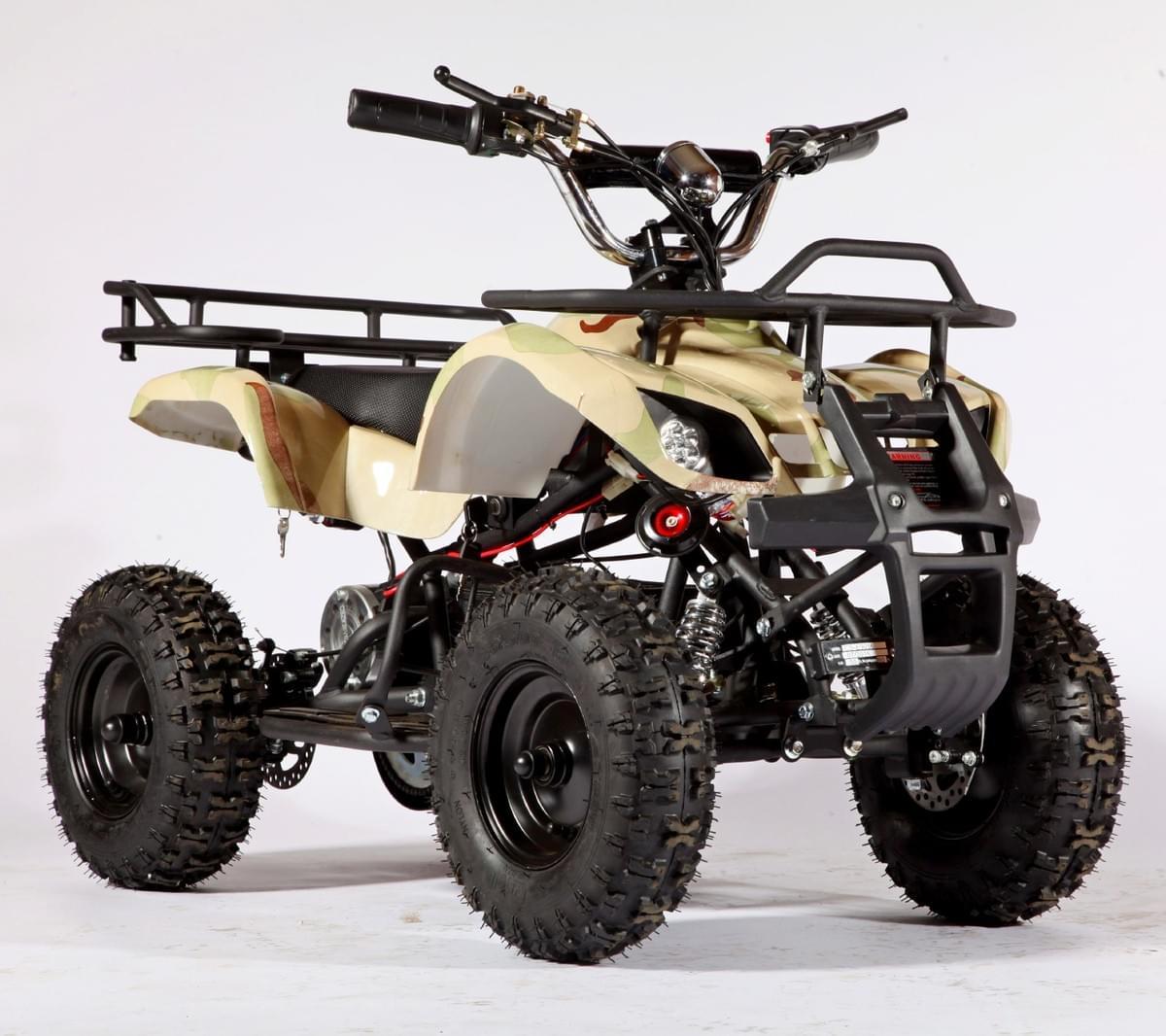 Электроквадроцикл Мини Барс 800 Сахара