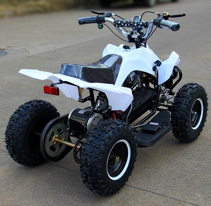 Электроквадроцикл Мини Кобра 800 Белая
