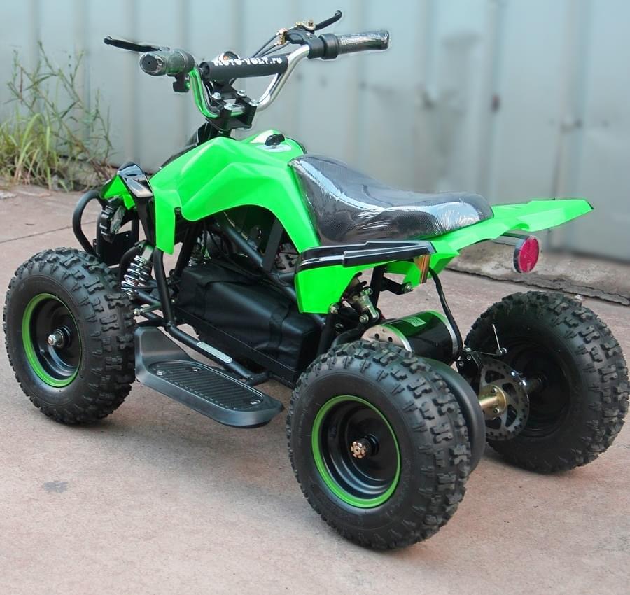Электроквадроцикл Мини Кобра 800 Зеленая
