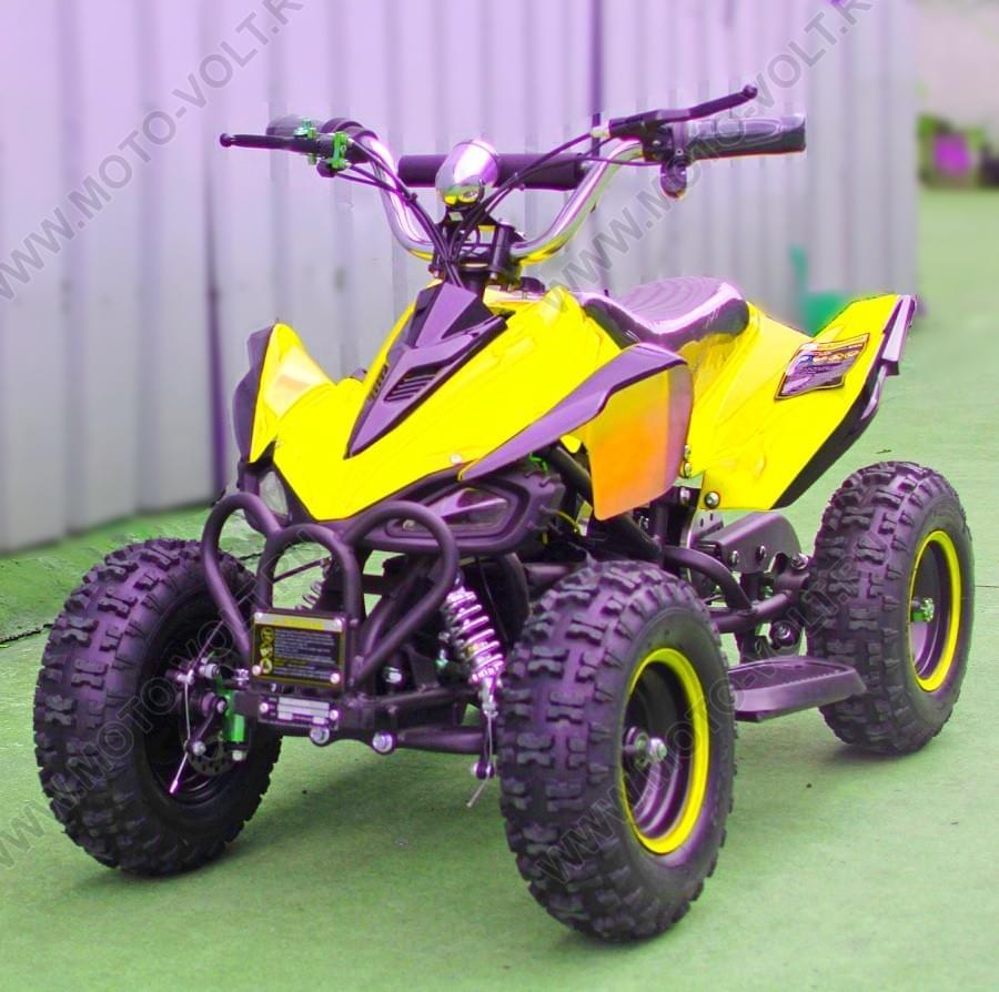 Электроквадроцикл Мини Кобра 800 RC Желтая