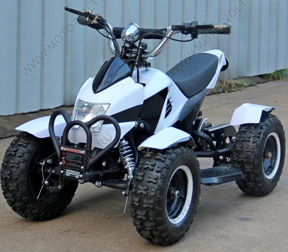 Электроквадроцикл Муха 800 RC Белая