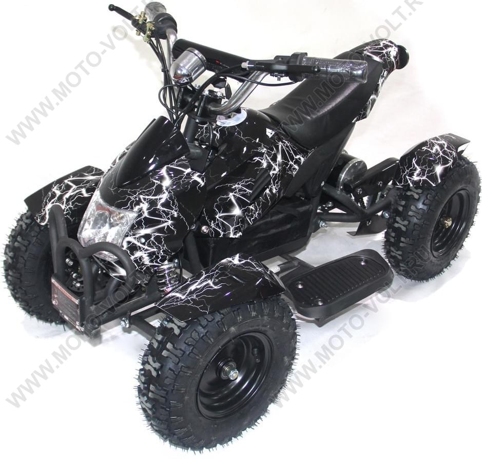 Десткий квадроцикл  Муха 800 Чёрная молния