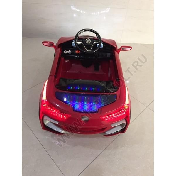 Электромобиль одноместный БМВ 8 красный