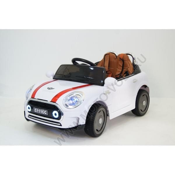 Машинка для ребенка МИНИ (белая)