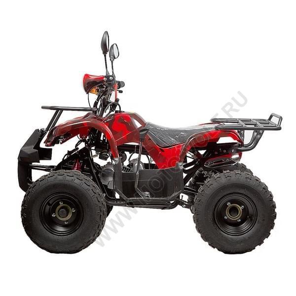 Бензиновый квадроцикл подростковый  Раптор 50N Красный камуфляж