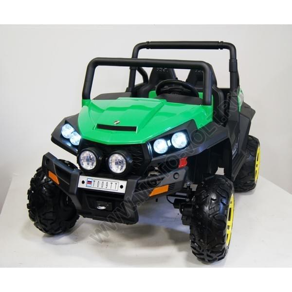 Электромобиль Багги зеленый