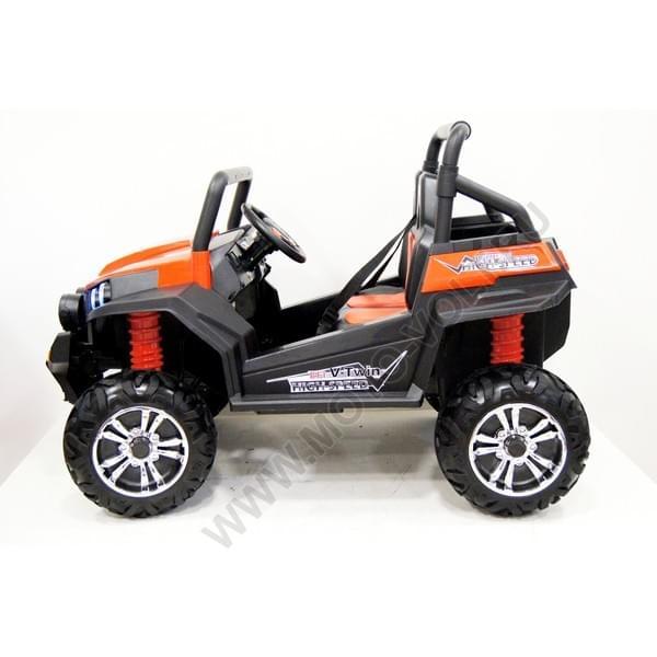 Детский электромобиль на аккумуляторе Rivertoys Багги красный